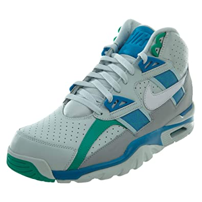 best sneakers 18f07 e11dc Nike Air Trainer SC High Bo Jackson Men s Shoes Barely Grey White-Blue Orbit