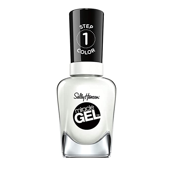 The Best White Nail Polish Sally Hansen Miracle Gel