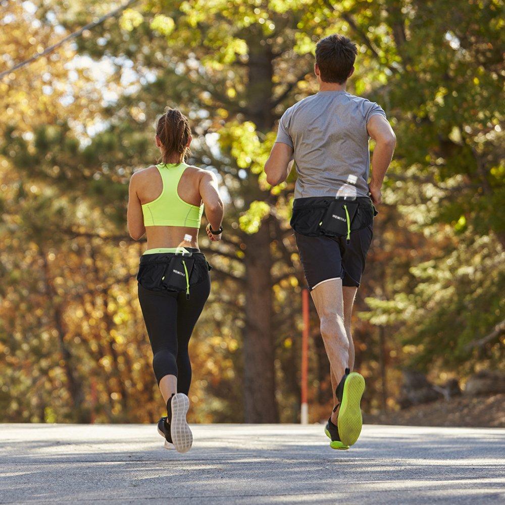 ジョギング用ウエストポーチ