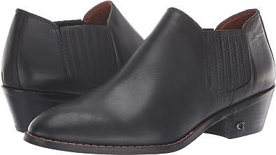 Amazon.com: Coach Botines de cuero para mujer: Shoes