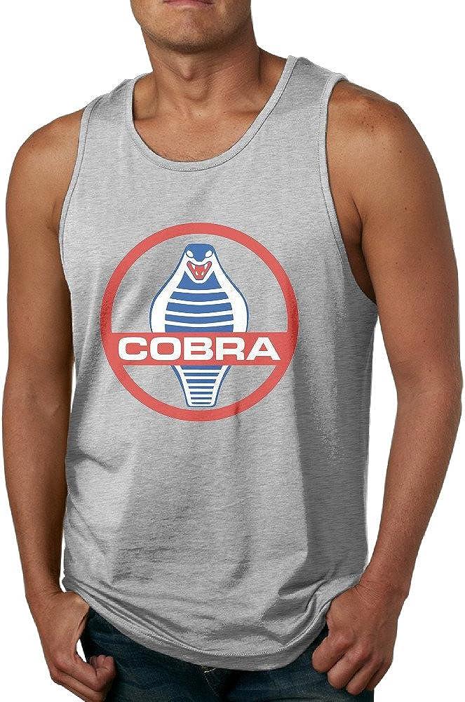 GOOOET Men's New Ford Mustang Shelby Cobra Tank Top Gym T-shirt
