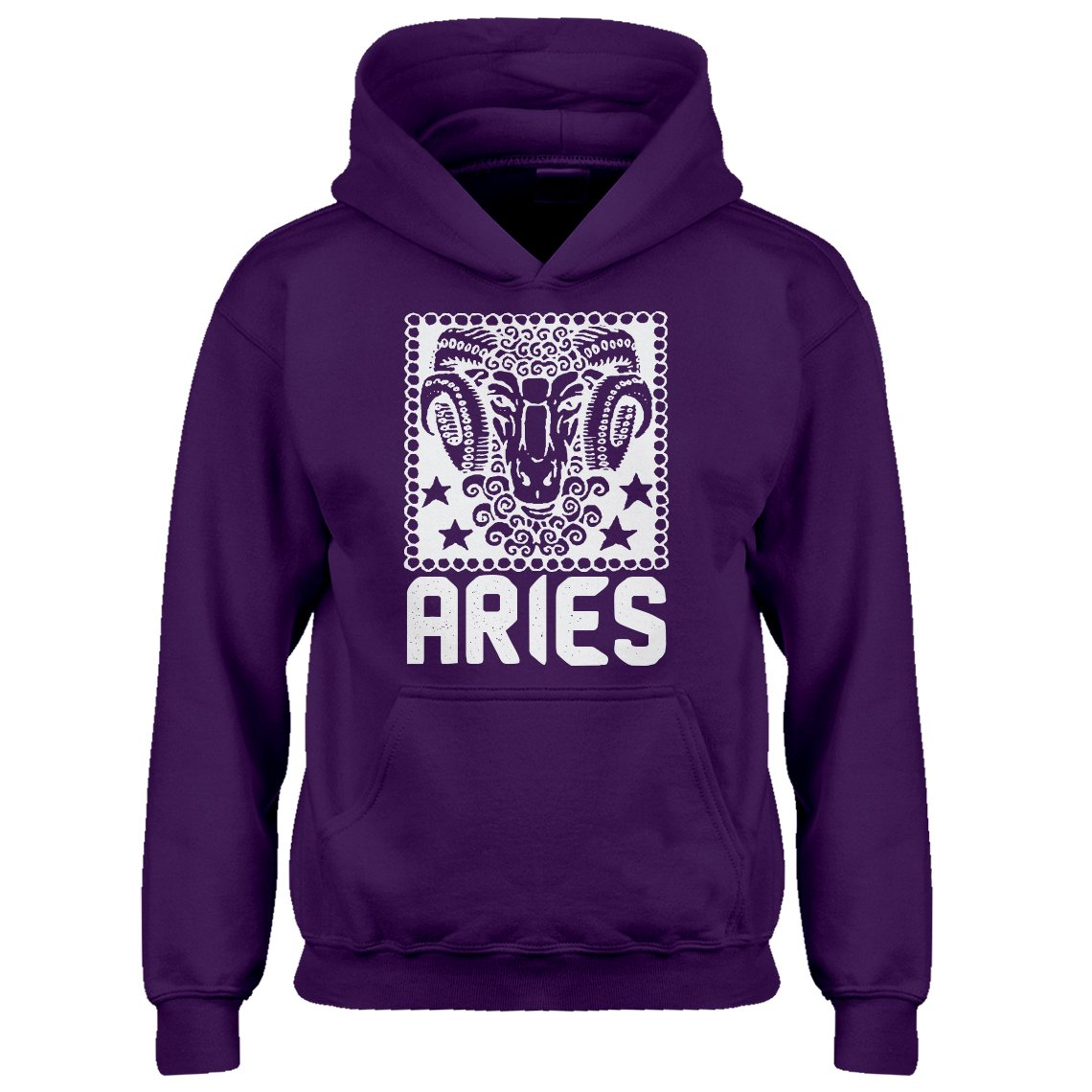 Indica Plateau Youth Aries Zodiac Astrology Kids Hoodie