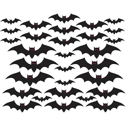 Halloween Cemetery Bat Cutouts Mega Value Pack 30