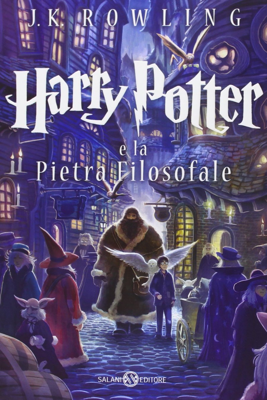 Harry Potter e la Pietra Filosofale Italian Edition of Harry ...