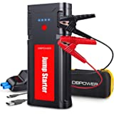 DBPOWER 2500 Amp 12-Volt Upgraded Portable Lithium Jump Starter- for up to 8.0L Gasoline/6.5L Diesel Engines, Car Power Start