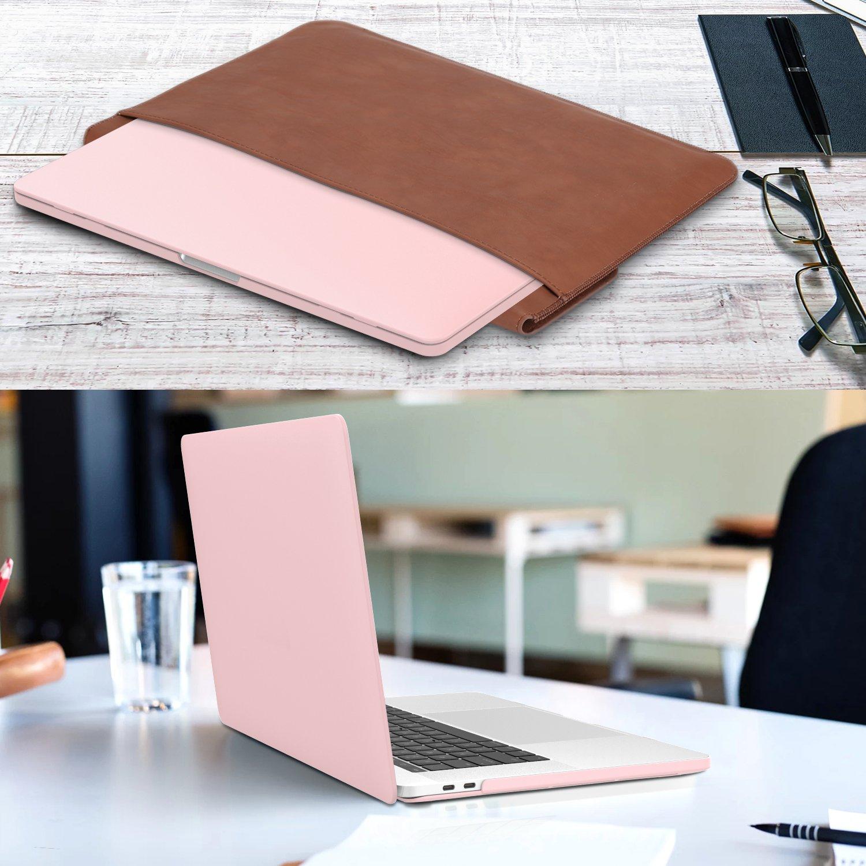 MoKo Funda para MacBook Pro 13 2017//2016 Agua Azul Con // Sin Touch Bar, Versi/ón 2017//2016 Slim Ordenador protector funda de Matorral para Nuevo Apple MacBook Pro 13 pulgadas A1706 // A1708