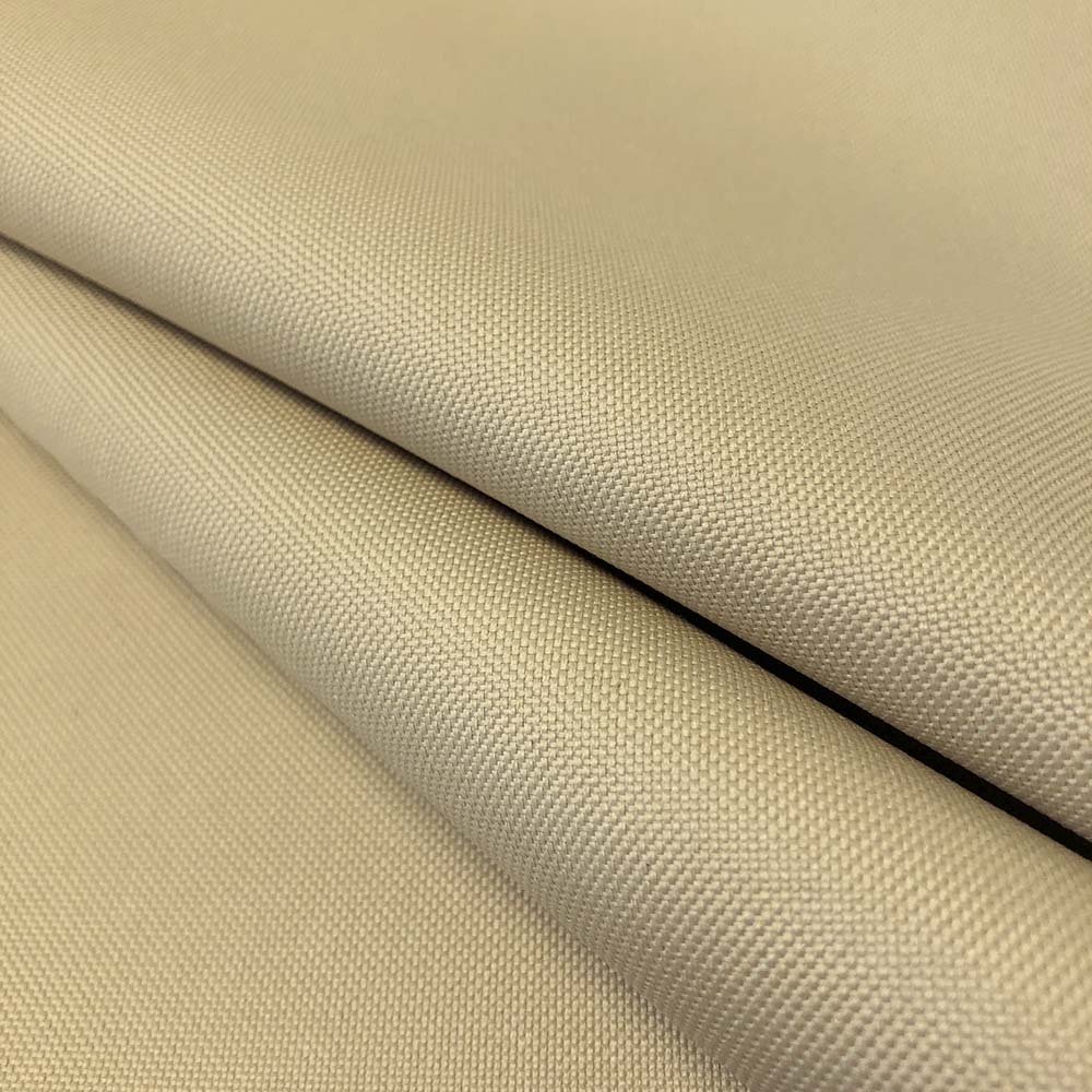 Ottertex Canvas Fabric Waterproof Outdoor 60'' wide 600 Denier 15 Colors sold by the yard (5 YARD, Beige) by Ottertex (Image #1)