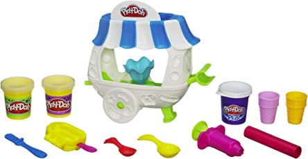 Play Doh Sweet Shoppe Ice Cream Sundae Cart Playset