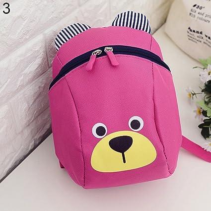 44bda160081 Baost Cute Bear Kids Anti-Lost Backpack Baby Toddler Walking Safety Backpack  Children Kindergarten Shoulder