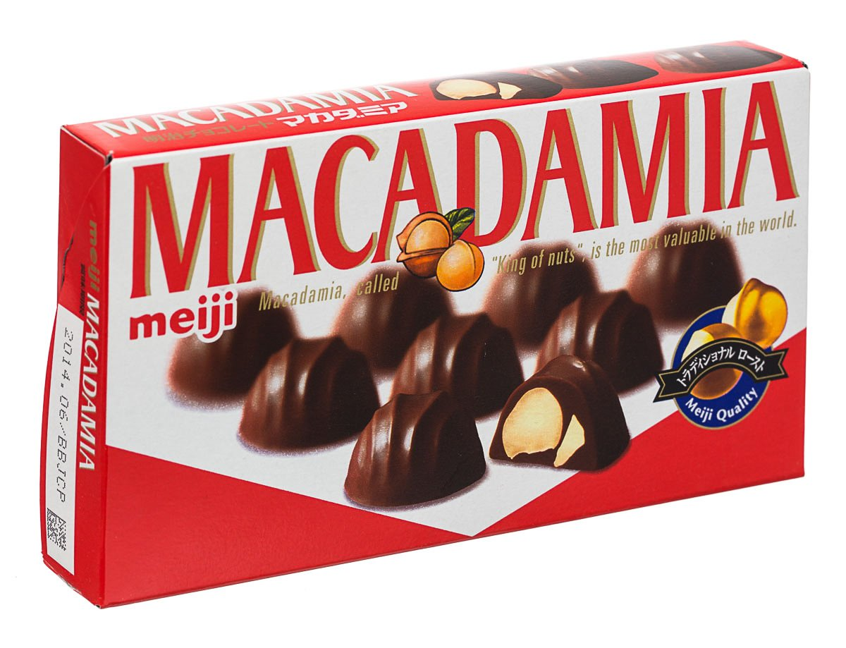 Meiji Choco Macadamia, 2.36-Ounce Boxes (Pack of 10)