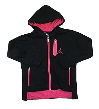 air jordan jacket girls pink