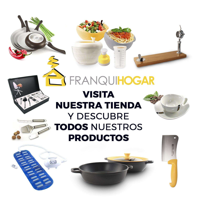 Juego de 4 sartenes cerámicas + Juego de herramientas de cocina de REGALO: Amazon.es: Hogar