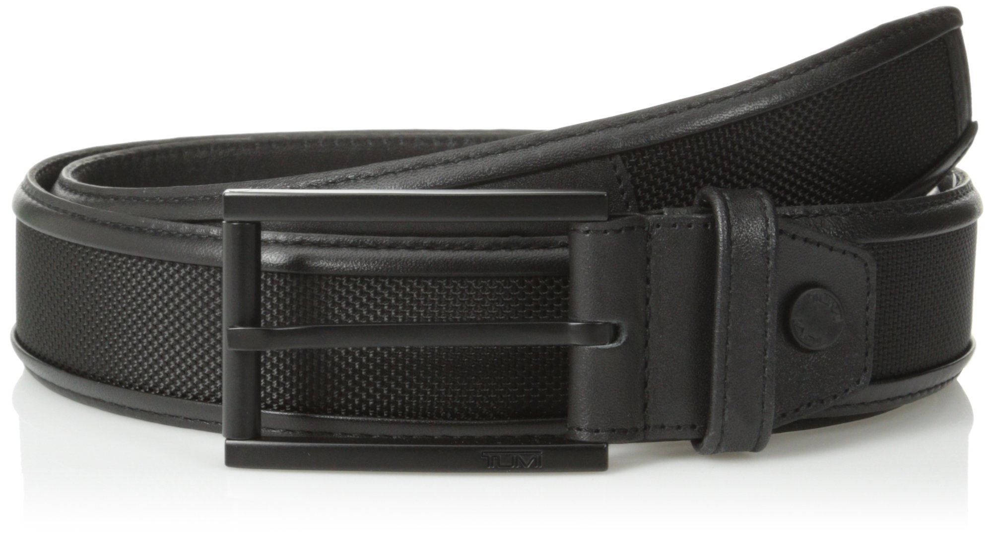 TUMI Men's Ballistic Belt, Black, 36