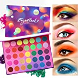 Eyeseek Colorful Eyeshadow Palette 35 Colors...