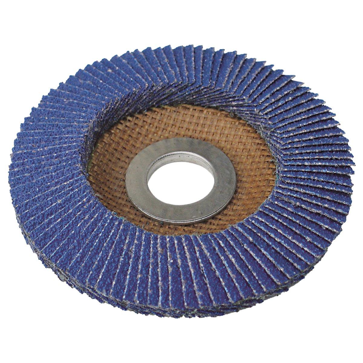 IVY Classic 42220 Flex-Abrasive 7-Inch x 7//8-Inch 80 Grit Medium Zirconia Flap Disc