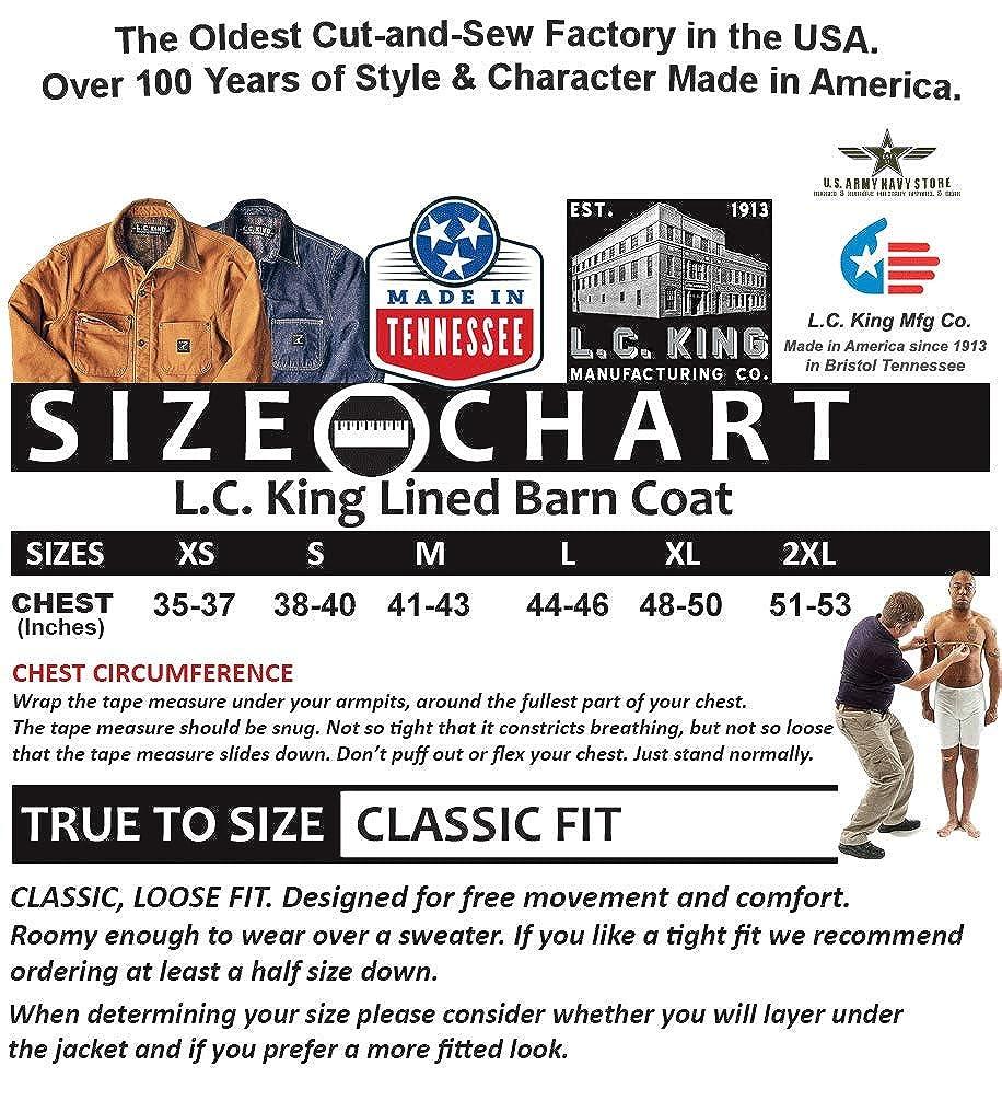 Amazon.com: L.C. King Made in USA - Manta para hombre ...