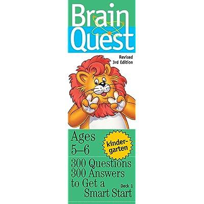 Brain Quest: Kindergarten (Ages 5-6): Toys & Games