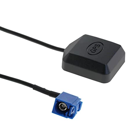 More Power - Antena GPS con Conector Fakra, Adaptador C con Base magnética para Coche