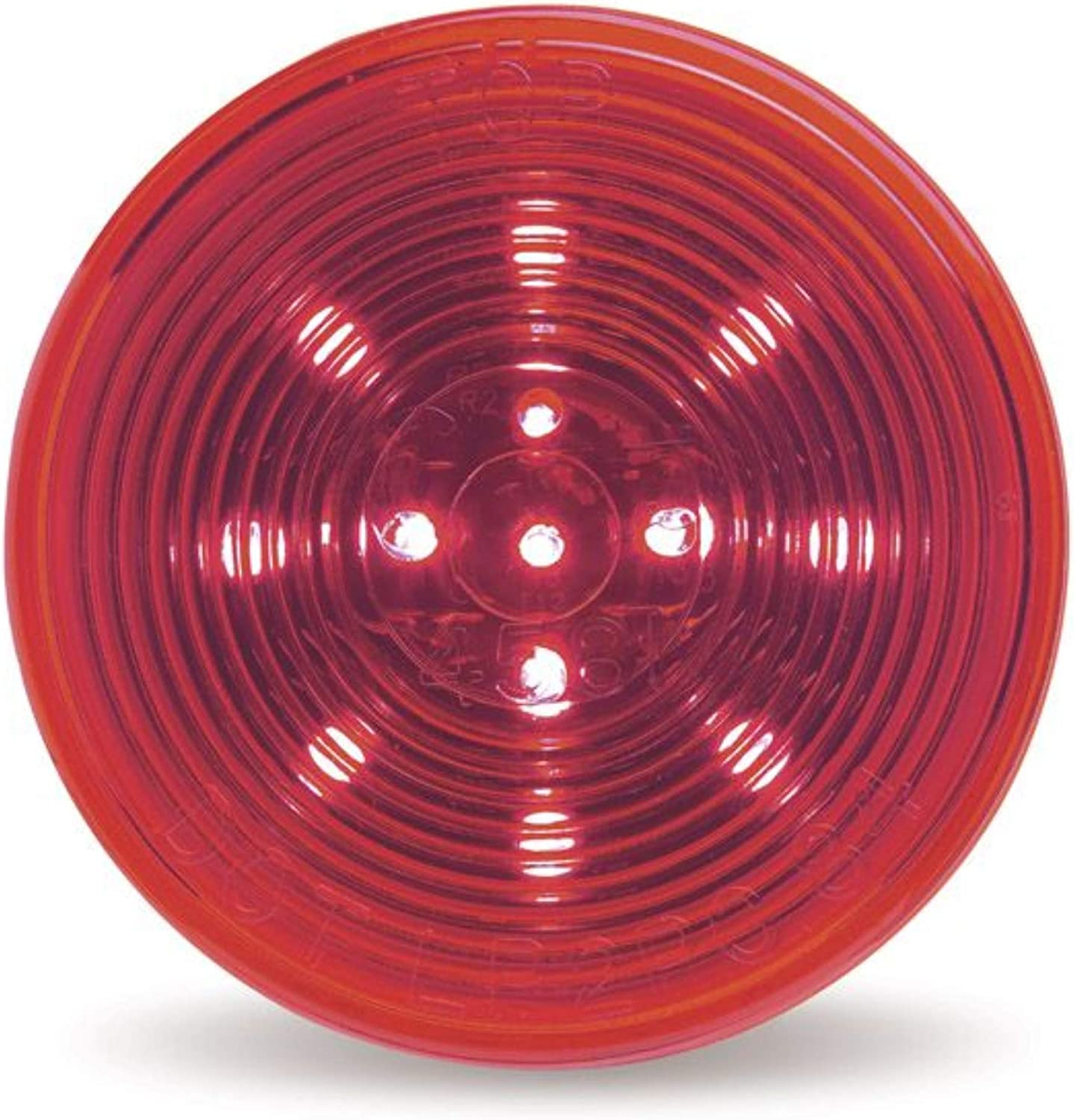 Optic Lens Grote Lamp LED Red 2.5 in