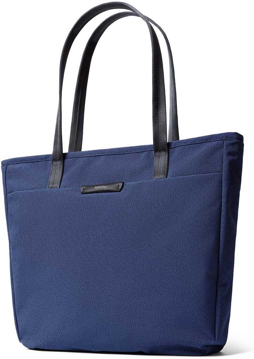 Bellroy Tokyo Tote (Unisex Laptop Tote Bag, Zipper Closure) - Ink Blue