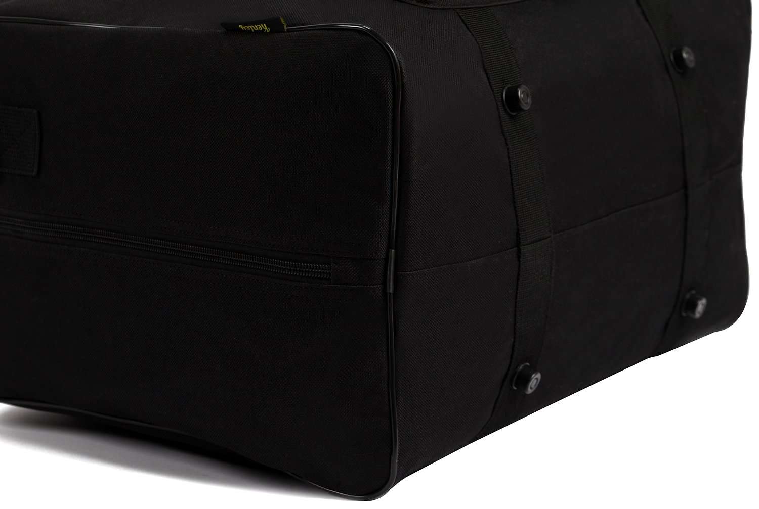Classic Black Universal Fit 18x10x13 inches for Singer Brother Bernina Janome Padded Storage Cover Carrying Case with Pockets and Handles Kenley Sewing Machine Tote Bag