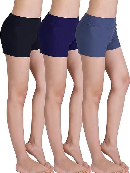 Costumi da Bagno da Donna Tankini SPORTS Top Pantaloni Yoga Jogging SMALL-più taglie.