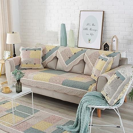 DIGOWPGJRHA Toalla de sofá Muebles Protector,Funda de sofá 3 ...