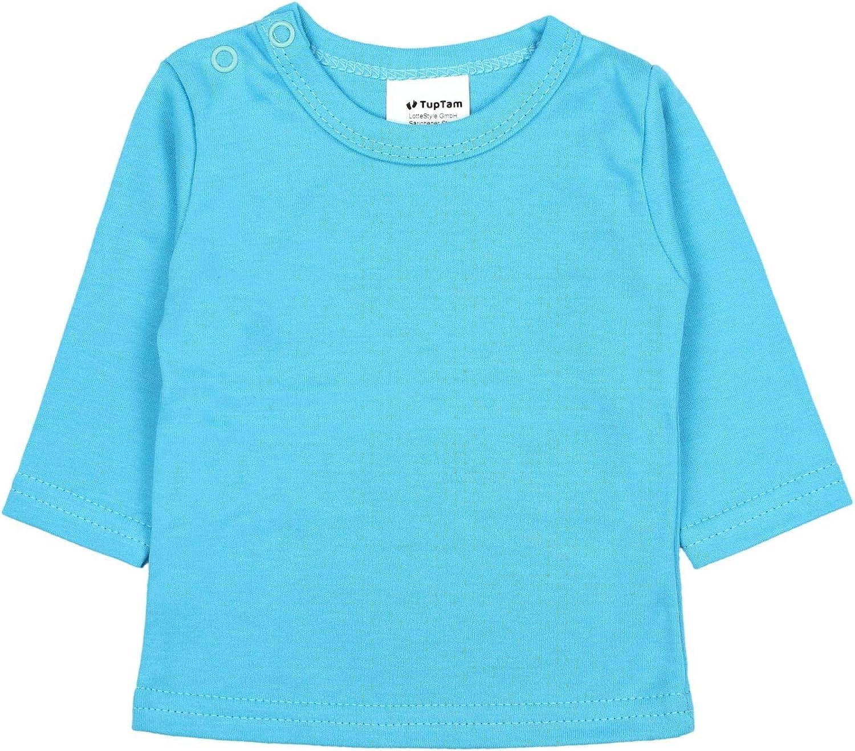 TupTam Baby Girls Long Sleeve Shirt Pack of 5