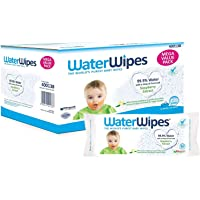 WaterWipes Gentle All Over Cleansing Babyvåtservetter, 12 x 60 Stycken