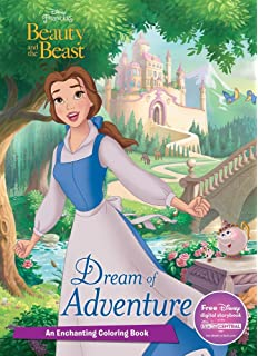 Dream Of Adventure An Enchanting Coloring Book Disney Princess Beauty And The Beast