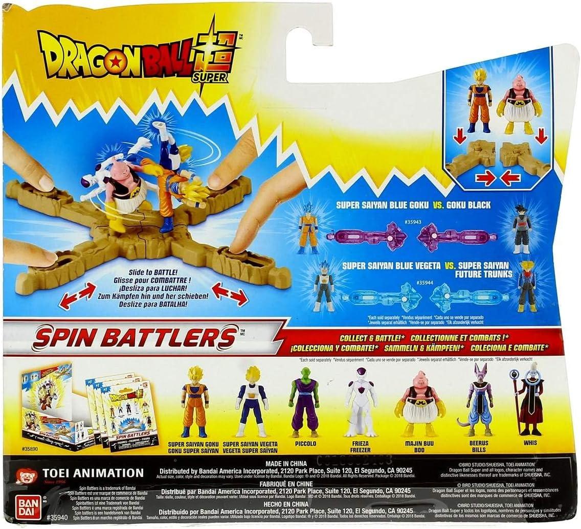 Dragon Ball Super - Vegeta & Trunks SS Pack de 2 combate (Bandai 35944): Amazon.es: Juguetes y juegos