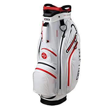 BIG MAX Dri Lite ACTIVE Cartbag Wasserabweisend White/Red ...