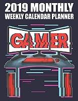 2019 Monthly Weekly Calendar Planner: Vintage