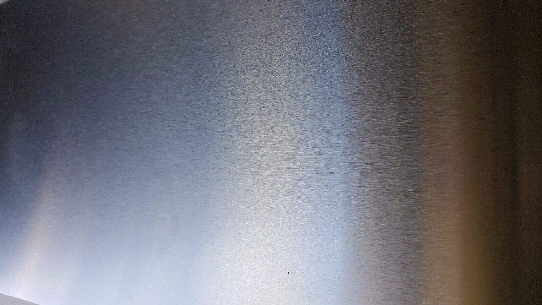 Amazon Com 18 Gauge Stainless Steel 4 Brushed 304 Sheet Plate 12 X 24 Industrial Scientific