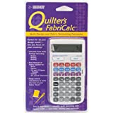 Calculated Industries Quilter's FabriCalc Quilt Design and Fabric Estimating Calculator
