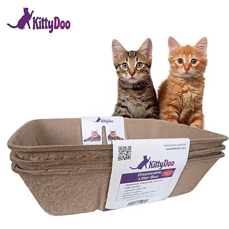 Kittydoo Lettiera Per Gatti Cassettina Igienica Litter Box