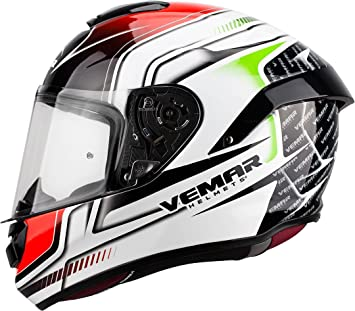 Vemar Hurricane Racing Bianco Rosso Verde S
