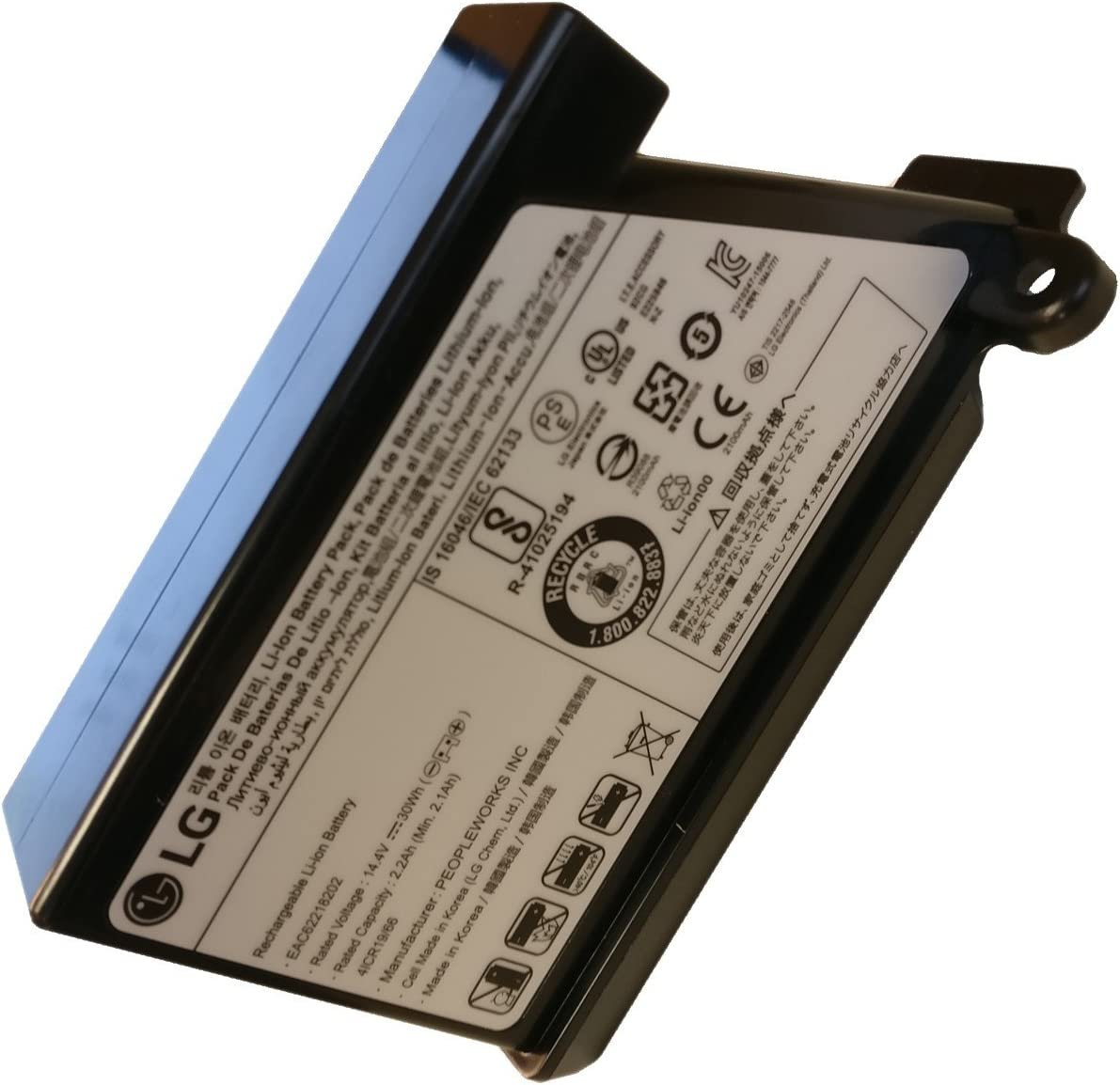 Batería recargable – Robot aspirador – LG: Amazon.es: Grandes ...