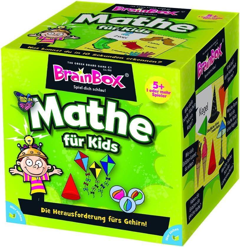 BrainBox My First Maths Niños Juego de Mesa de Aprendizaje - Juego de Tablero (Juego de Mesa de Aprendizaje, Niños, Niño/niña, 5 año(s)): Amazon.es: Juguetes y juegos