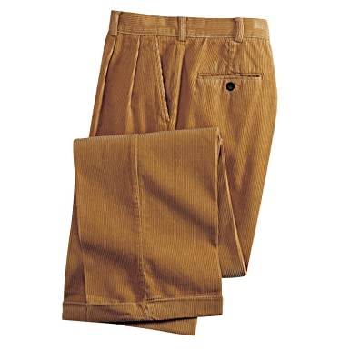 Blair Men S Wide Wale Corduroy Slacks 32 L Honey At Amazon Men S