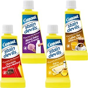 Carbona Stain Devil Food Clean Up Stain Remover Combo Set