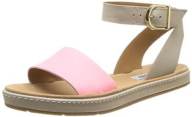 9917ea988f744 Clarks Women s Romantic Moon Open Toe Sandals Multicolor Size  7.5 ...
