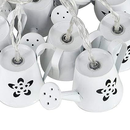 Amazon.com: LED Luces de cadena de hadas con 10 ledes de ...