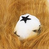 Cute Lion Mane Wig Headgear Costume for Puppy Dog