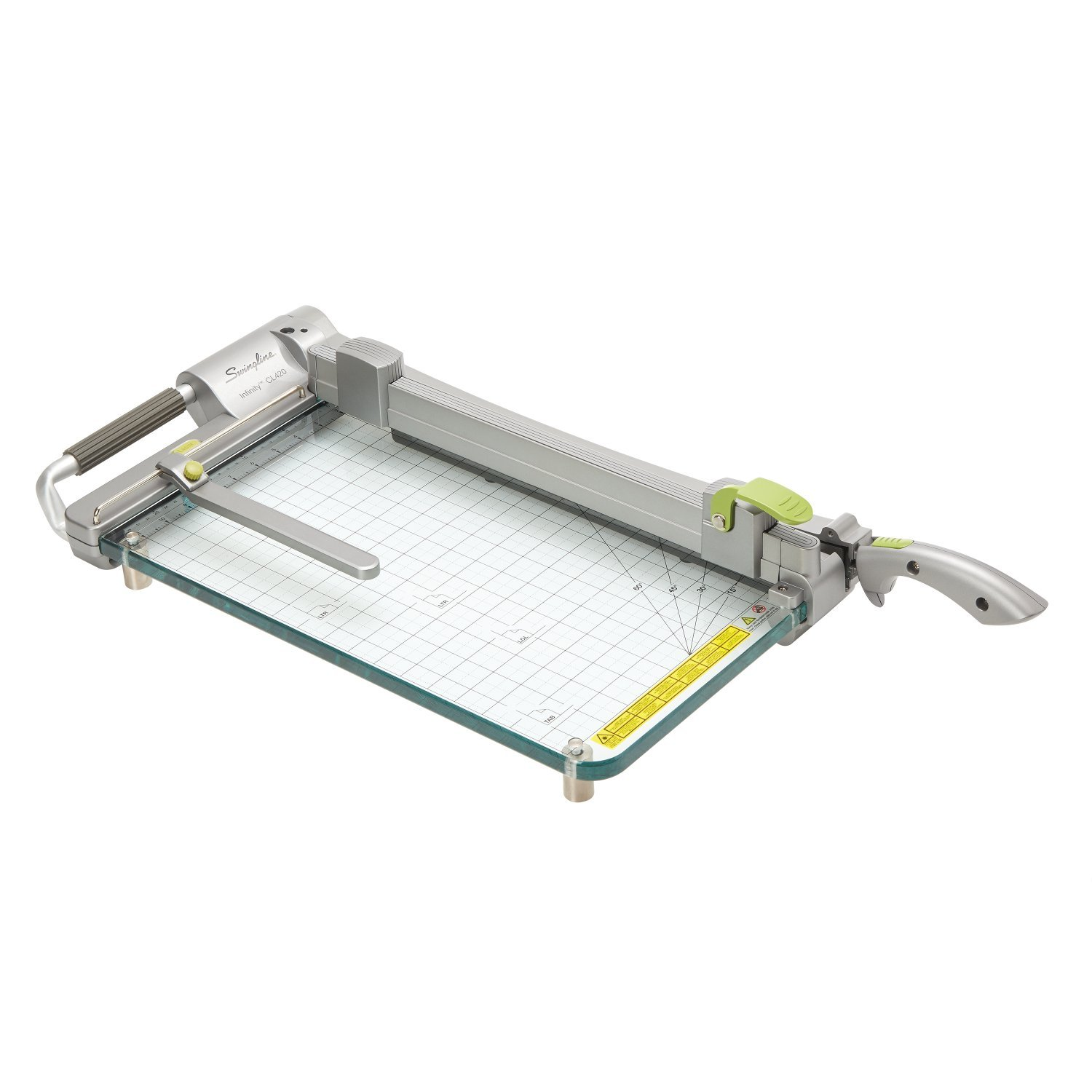 Swingline Paper Trimmer / Cutter, Guillotine, 18'' Cut Length, 25 Sheet Capacity, Infinity ClassicCut CL420 Acrylic (S7099420)
