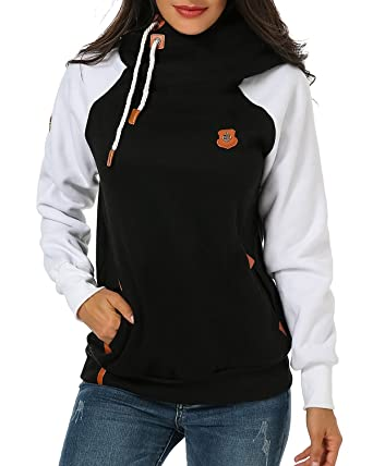 Women's pullover hoodie jacket