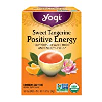 Yogi Tea - Sweet Tangerine Positive Energy (6 Pack) - Supports Elevated Mood and...