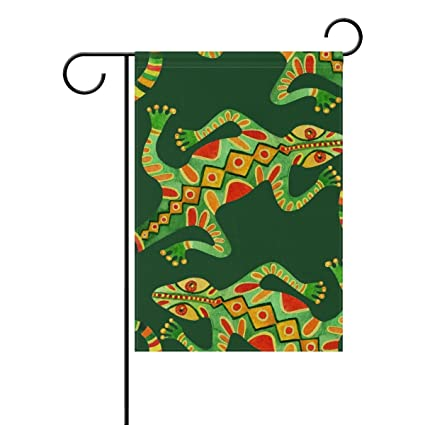 Amazon com : Top Carpenter Watercolor Lizards Double-Sided