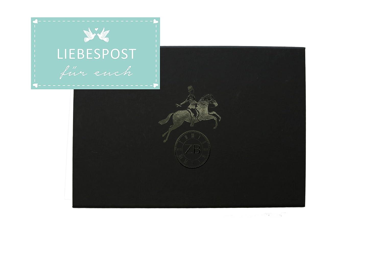 Zeitbote Schmetterlinge im Bauch - 20 Blanko Postkarten zur Hochzeit - Hochzeitsspiel - Hochzeitsgeschenk - Postkartenset zur Hochzeit (Laufzeit 1 Jahr) - Versand bis zu 1 Jahr später