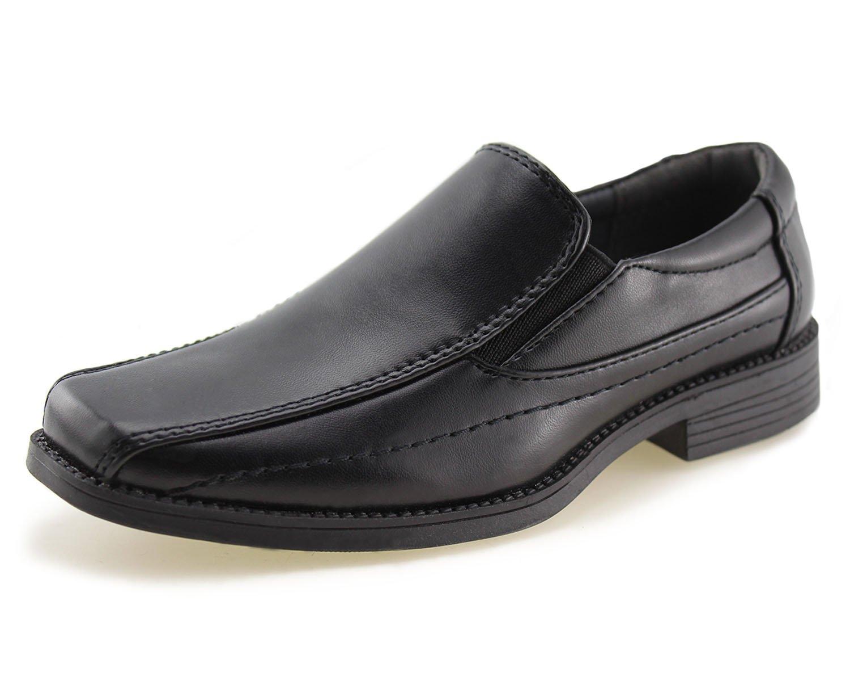 Kids School Uniform Dress Shoes Slip-on Oxford (Toddler/Little Kid)(3)